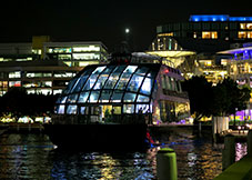 Enjoy New Years Eve onboard Glass Boat Dinner Cruise on Sydney Harbour