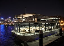 Restaurant-style Dining on Glass Boat Cruises