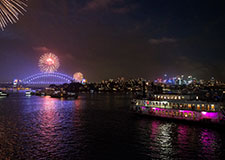 Ballroom cruise wines & Beverages on Sydney Harbour