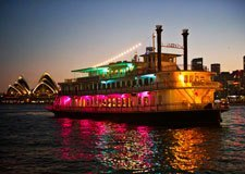 Sydney Showboat Dinner Cruise on Sydney Harbour